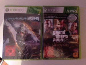 Metal Gear Rising: Revengeance (Xbox 360), Grand Theft Auto IV & Episodes from Liberty City - The Complete Edition (Xbox 360)